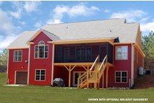 House Plan Design - Traditional Exterior - Rear Elevation Plan #929-965