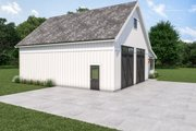Farmhouse Style House Plan - 1 Beds 1 Baths 612 Sq/Ft Plan #1070-120 Exterior - Other Elevation