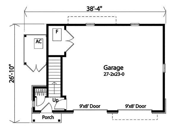 House Plan Design - Country Floor Plan - Main Floor Plan #22-605