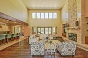 Adobe / Southwestern Style House Plan - 3 Beds 3 Baths 5290 Sq/Ft Plan #451-25 Interior - Family Room