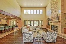 Architectural House Design - Adobe / Southwestern Interior - Family Room Plan #451-25