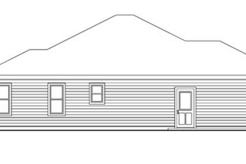Craftsman Exterior - Other Elevation Plan #124-745 - Houseplans.com