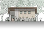 Bungalow Style House Plan - 1 Beds 1 Baths 362 Sq/Ft Plan #910-4 Exterior - Other Elevation