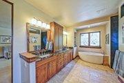 Adobe / Southwestern Style House Plan - 3 Beds 3 Baths 5290 Sq/Ft Plan #451-25 Interior - Master Bathroom