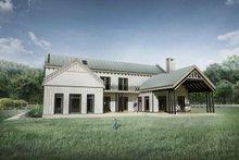 House Plan Design - Farmhouse Exterior - Rear Elevation Plan #924-5