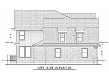 Architectural House Design - Colonial Exterior - Other Elevation Plan #20-2442