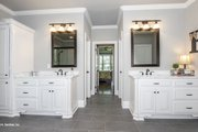 Ranch Style House Plan - 4 Beds 4 Baths 3045 Sq/Ft Plan #929-1007 Interior - Master Bathroom