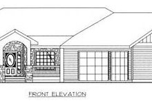 House Plan Design - Country Exterior - Other Elevation Plan #117-572
