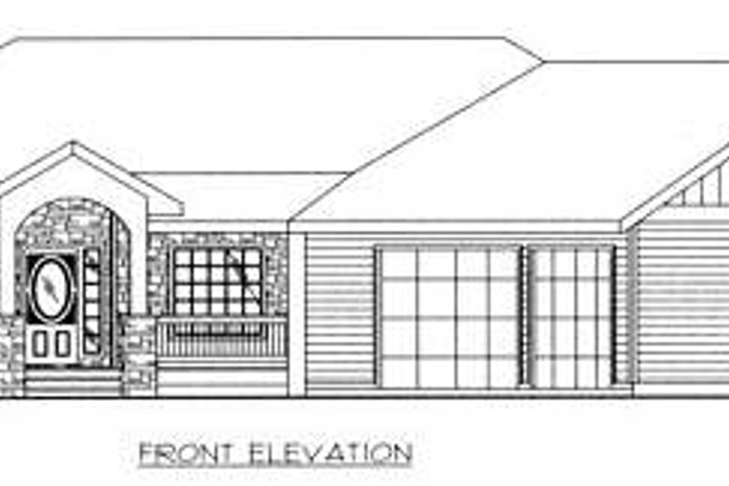 Country Exterior - Other Elevation Plan #117-572 - Houseplans.com
