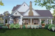 Farmhouse Style House Plan - 3 Beds 2.5 Baths 2984 Sq/Ft Plan #120-195 Exterior - Other Elevation