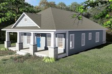 House Plan Design - Craftsman Exterior - Other Elevation Plan #44-232