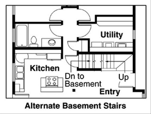 Contemporary Floor Plan - Other Floor Plan #124-456