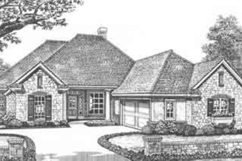 Home Plan - Traditional Exterior - Front Elevation Plan #310-400