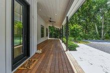 Farmhouse Exterior - Covered Porch Plan #888-15
