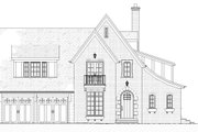 Tudor Style House Plan - 3 Beds 3.5 Baths 3331 Sq/Ft Plan #901-141 Exterior - Front Elevation