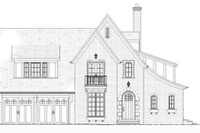 Tudor Exterior - Front Elevation Plan #901-141