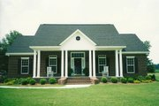 Southern Style House Plan - 3 Beds 2.5 Baths 1955 Sq/Ft Plan #406-285 Photo