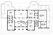 European Style House Plan - 5 Beds 5 Baths 7063 Sq/Ft Plan #20-2378 Floor Plan - Upper Floor