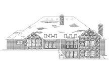 Dream House Plan - European Exterior - Rear Elevation Plan #5-326