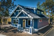 Craftsman Style House Plan - 2 Beds 2 Baths 838 Sq/Ft Plan #895-88 Exterior - Front Elevation