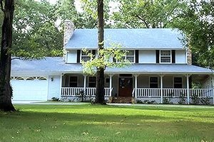 Country Exterior - Front Elevation Plan #320-415