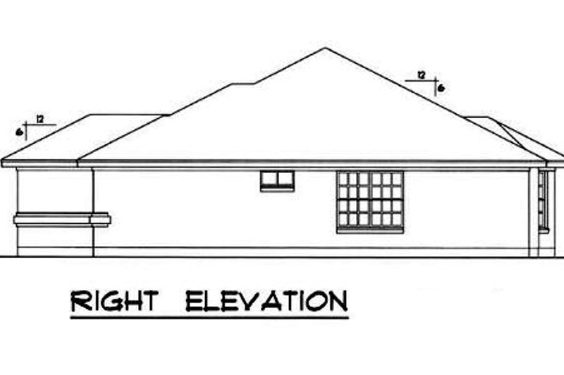 Farmhouse Exterior - Other Elevation Plan #40-164 - Houseplans.com