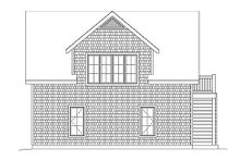 Dream House Plan - Country Exterior - Rear Elevation Plan #22-546