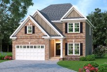 Dream House Plan - Traditional Exterior - Front Elevation Plan #419-184