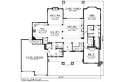 Ranch Style House Plan - 2 Beds 2.5 Baths 2318 Sq/Ft Plan #70-1273 Floor Plan - Main Floor Plan