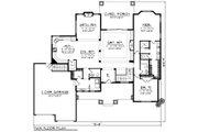 Ranch Style House Plan - 2 Beds 2.5 Baths 2318 Sq/Ft Plan #70-1273 Floor Plan - Main Floor Plan