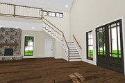 Country Style House Plan - 3 Beds 3.5 Baths 4072 Sq/Ft Plan #923-97 Interior - Entry