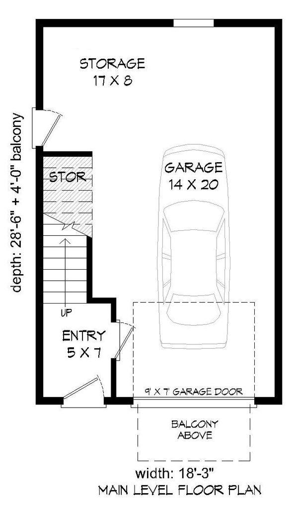 Contemporary Floor Plan - Lower Floor Plan Plan #932-126