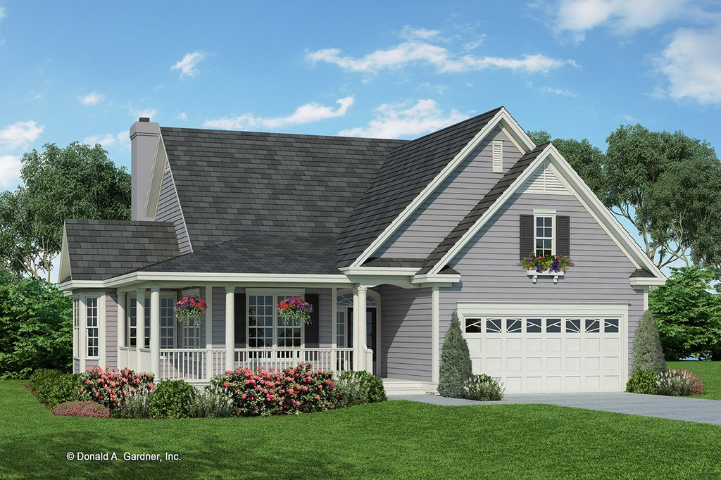 Country Style House Plan 3 Beds 2 Baths 1700 Sq Ft Plan