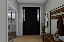 Architectural House Design - Traditional Interior - Entry Plan #1060-59