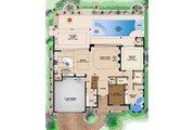Beach Style House Plan - 3 Beds 3.5 Baths 4920 Sq/Ft Plan #27-514 Floor Plan - Main Floor Plan