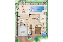 Beach Floor Plan - Main Floor Plan Plan #27-514