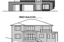Home Plan Design - Contemporary Exterior - Other Elevation Plan #1066-56