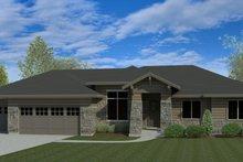 Craftsman Exterior - Front Elevation Plan #920-110