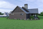 Craftsman Style House Plan - 3 Beds 2.5 Baths 3285 Sq/Ft Plan #1070-68 Exterior - Other Elevation