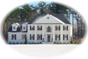 Colonial Style House Plan - 4 Beds 3.5 Baths 2782 Sq/Ft Plan #81-1487 Exterior - Front Elevation