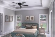 Country Style House Plan - 3 Beds 2 Baths 2239 Sq/Ft Plan #430-167 Interior - Master Bedroom