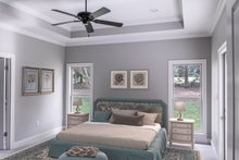 House Design - Country Interior - Master Bedroom Plan #430-167