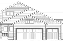 Dream House Plan - Country Exterior - Other Elevation Plan #124-882