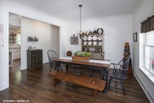 Dream House Plan - Country Interior - Dining Room Plan #929-670