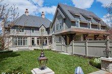 House Design - Tudor Exterior - Rear Elevation Plan #928-275
