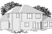 Ranch Style House Plan - 4 Beds 3 Baths 2316 Sq/Ft Plan #70-1033 Photo