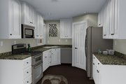 Ranch Style House Plan - 2 Beds 1 Baths 1190 Sq/Ft Plan #1060-3 Interior - Kitchen