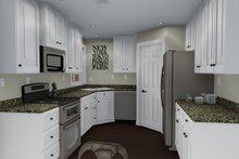 Ranch Interior - Kitchen Plan #1060-3