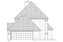 House Plan Design - Right Side Elevation