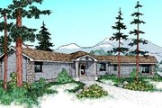 Traditional Style House Plan - 3 Beds 2 Baths 2620 Sq/Ft Plan #60-530 Exterior - Front Elevation